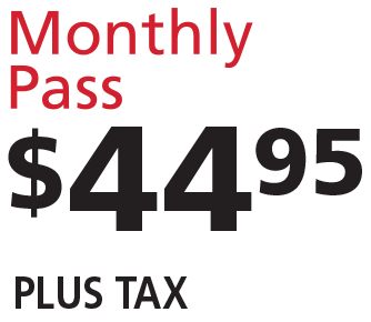 Sparkle Wash Monthly Pass $44.95 plus tax