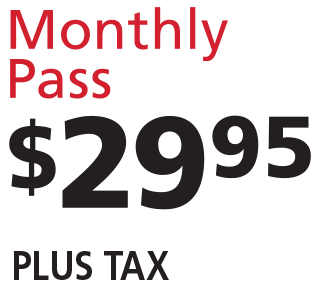 Ultimate Wash Monthly Pass $29.95 Plus Tax