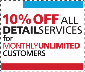 10% Off All Detail Services