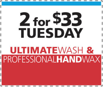 2 for $33 Tuesday